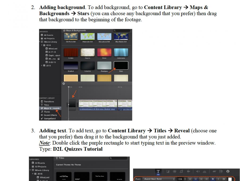 Step-by-Step Guide: iMovie – Dori Lee Designs